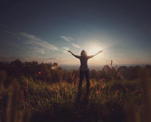 Woman in praise